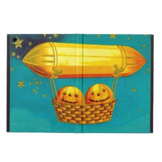 ジャックOのランタンのカボチャ熱気の気球 iPad AIRケース