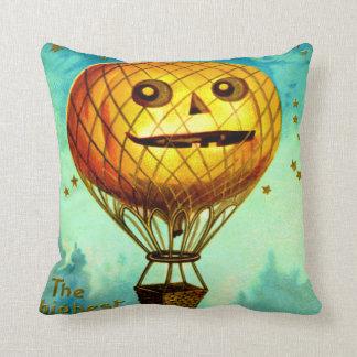 ジャックOのランタンの気球 クッション
