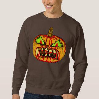 ジャックOゾンビ-人のセーター スウェットシャツ