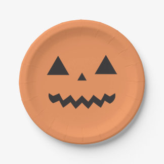 ジャックO'Lanternの紙皿 ペーパープレート