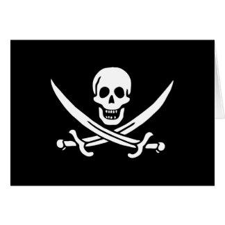 ジャックRackham; 海賊旗の旗; 海賊 カード