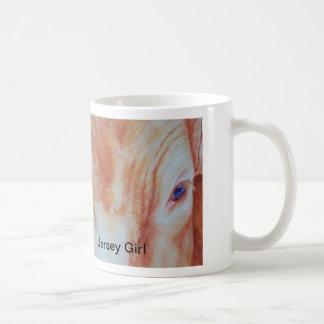 ジャネットによるジャージーの女の子はBelichのジャージーの女の子を意味します コーヒーマグカップ
