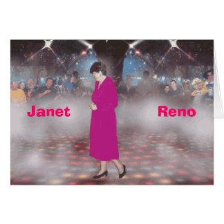 ジャネット・リノ カード
