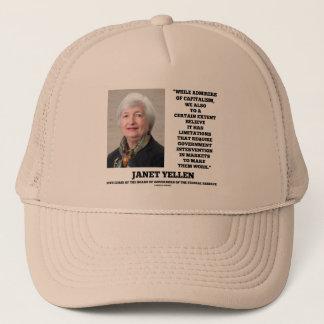 ジャネットYellenの賛美者の資本主義のGovtの介在 キャップ