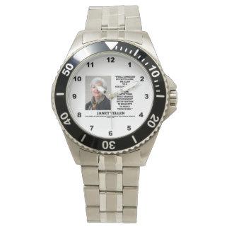 ジャネットYellenの賛美者の資本主義のGovtの介在 腕時計