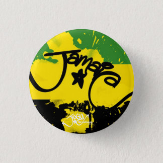 ジャマイカのしぶき! 小さいボタンPin 缶バッジ