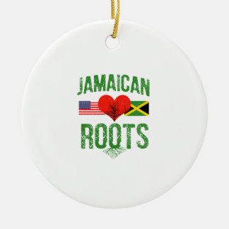 ジャマイカのアメリカ人 セラミックオーナメント