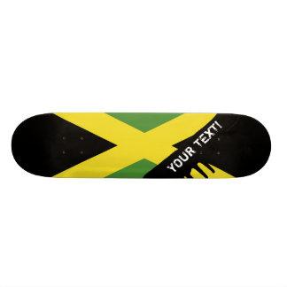 ジャマイカのクラシックな旗 20.6CM スケートボードデッキ