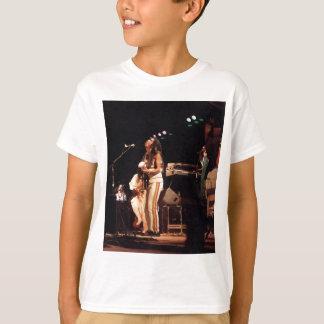 ジャマイカのコンサートのラスタのミュージシャンJAMMIN Tシャツ