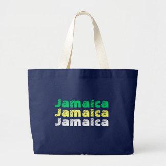 ジャマイカのジャンボトート ラージトートバッグ