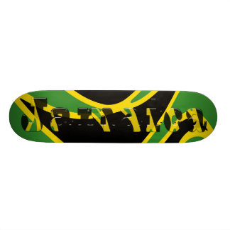 ジャマイカのスケートボード 18.1CM オールドスクールスケートボードデッキ