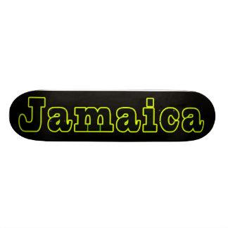 ジャマイカのスケートボード 18.4CM ミニスケートボードデッキ