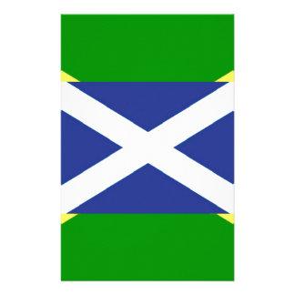 ジャマイカのスコットランドの旗-ジャマイカ-スコットランド 便箋