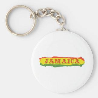 ジャマイカのストライプ キーホルダー