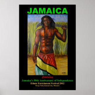 ジャマイカのスーパーマンポスター ポスター