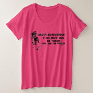 ジャマイカのダンスホール#mms006 プラスサイズTシャツ