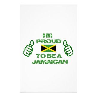 ジャマイカのデザイン 便箋