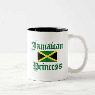 ジャマイカのプリンセス ツートーンマグカップ