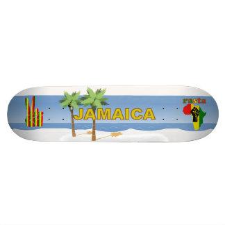 ジャマイカのラスタのレゲエのスケートボード-ワウ! スケボーデッキ