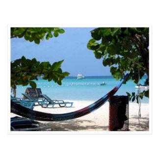ジャマイカのリラックス ポストカード