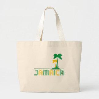 ジャマイカのレトロのトートバック ラージトートバッグ