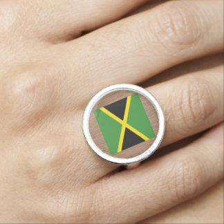 ジャマイカのレトロの旗 リング