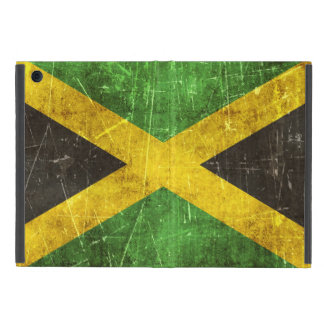 ジャマイカのヴィンテージの老化させ、傷付けられた旗 iPad MINI ケース