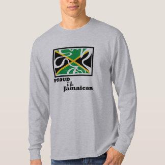 ジャマイカの人の長袖があること誇りを持ったなJammin Tシャツ