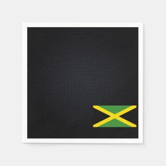 ジャマイカの冷たい旗 スタンダードカクテルナプキン
