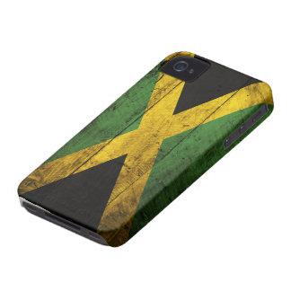 ジャマイカの古い木の旗 iPhone 4 カバー