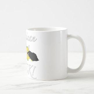 ジャマイカの女の子の石! コーヒーマグカップ