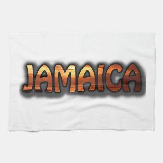 ジャマイカの文字の台所タオルの写真の日没Montego キッチンタオル