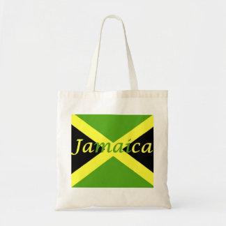 ジャマイカの旗のジャマイカの予算のトートバック トートバッグ