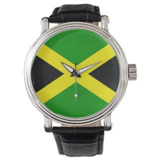ジャマイカの旗の腕時計 腕時計