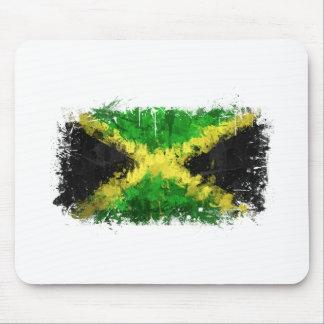 ジャマイカの旗の落書き マウスパッド