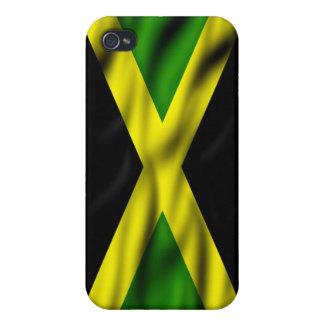ジャマイカの旗のIphone 4 Speckの場合 iPhone 4/4S Cover