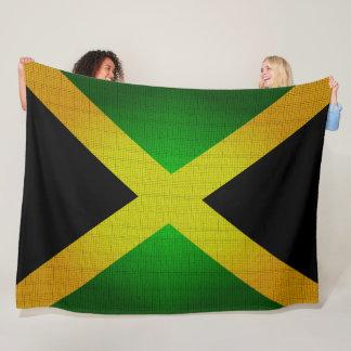 ジャマイカの旗はデザイナー毛布を着色します フリースブランケット