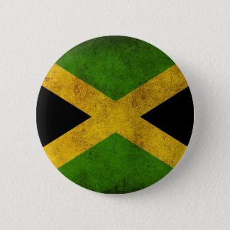 ジャマイカの旗ボタン 5.7CM 丸型バッジ