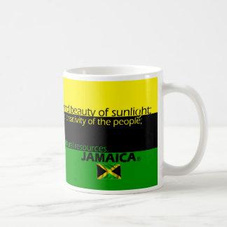 ジャマイカの旗色の意味 コーヒーマグカップ