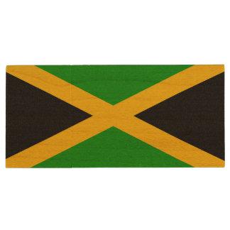 ジャマイカの旗 ウッドUSBフラッシュドライブ