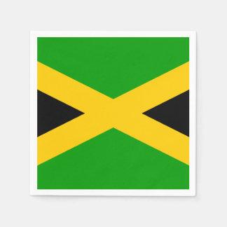 ジャマイカの旗 スタンダードカクテルナプキン