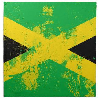 ジャマイカの旗 ナプキンクロス