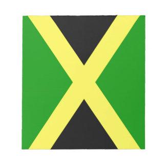 ジャマイカの旗 ノートパッド