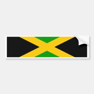 ジャマイカの旗 バンパーステッカー