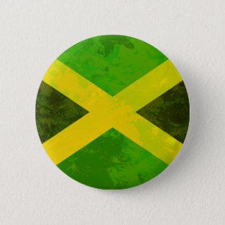 ジャマイカの旗-レゲエの根 5.7CM 丸型バッジ
