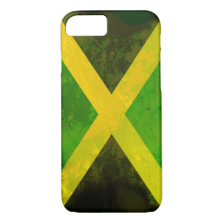 ジャマイカの旗-レゲエの根 iPhone 8/7ケース
