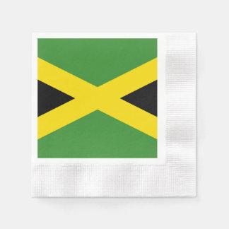 ジャマイカの旗 縁ありカクテルナプキン
