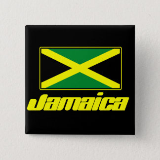 ジャマイカの旗 缶バッジ
