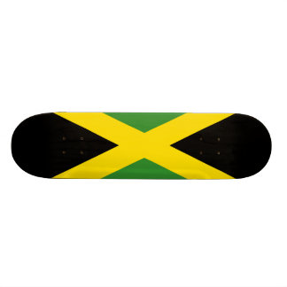 ジャマイカの旗 19.7CM スケートボードデッキ