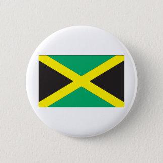 ジャマイカの旗 5.7CM 丸型バッジ
